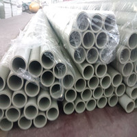 round tube plastic round pllasitcpph pp pe frpp pipe for chemical architural material