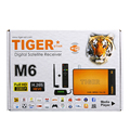Full HD 1080P Tiger M6 TV Receiver with HD output and free top ten movie