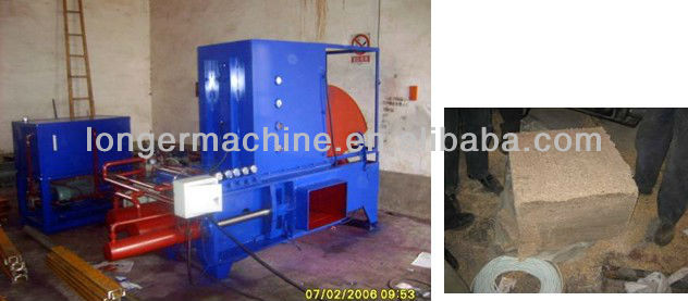 Wood Sawdust Block Press Machine|Sawdust Briquette Press Machine