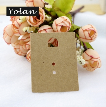 China Yiwu kraft paper earring card manafacturer