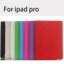 Y style PU leather case for ipad pro back cover for ipad pro