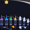 10ml 20ml 30ml e cigarette liquid bottle with dropper needle