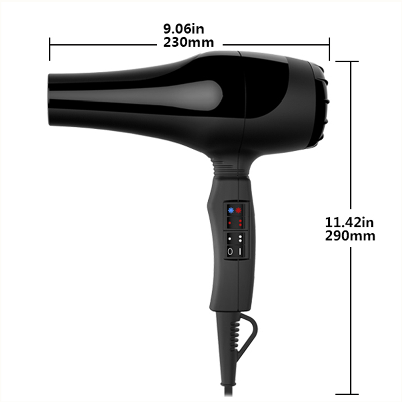 CE ROHS 2300W 6speed sets multifunctional ionic profesional ceramic hair dryerwith silent DC salon hair dryer with2 concentrator