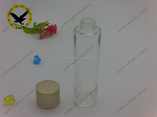 80ml glass lotion bottles for cosmetic packaging, teardrop glass lotion bottle