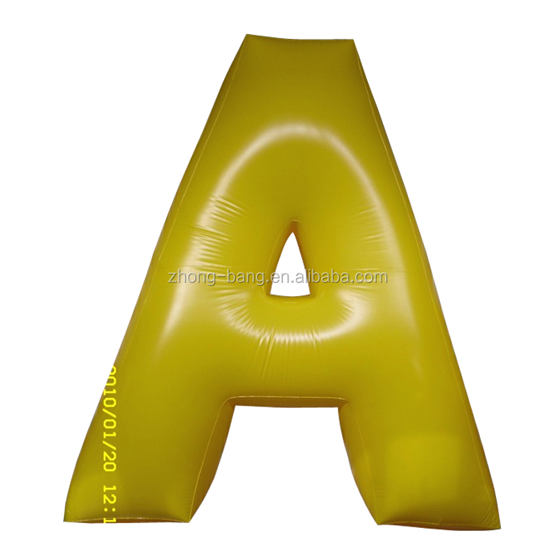 big Outdoor Eye attractive display words inflatable advertising letters