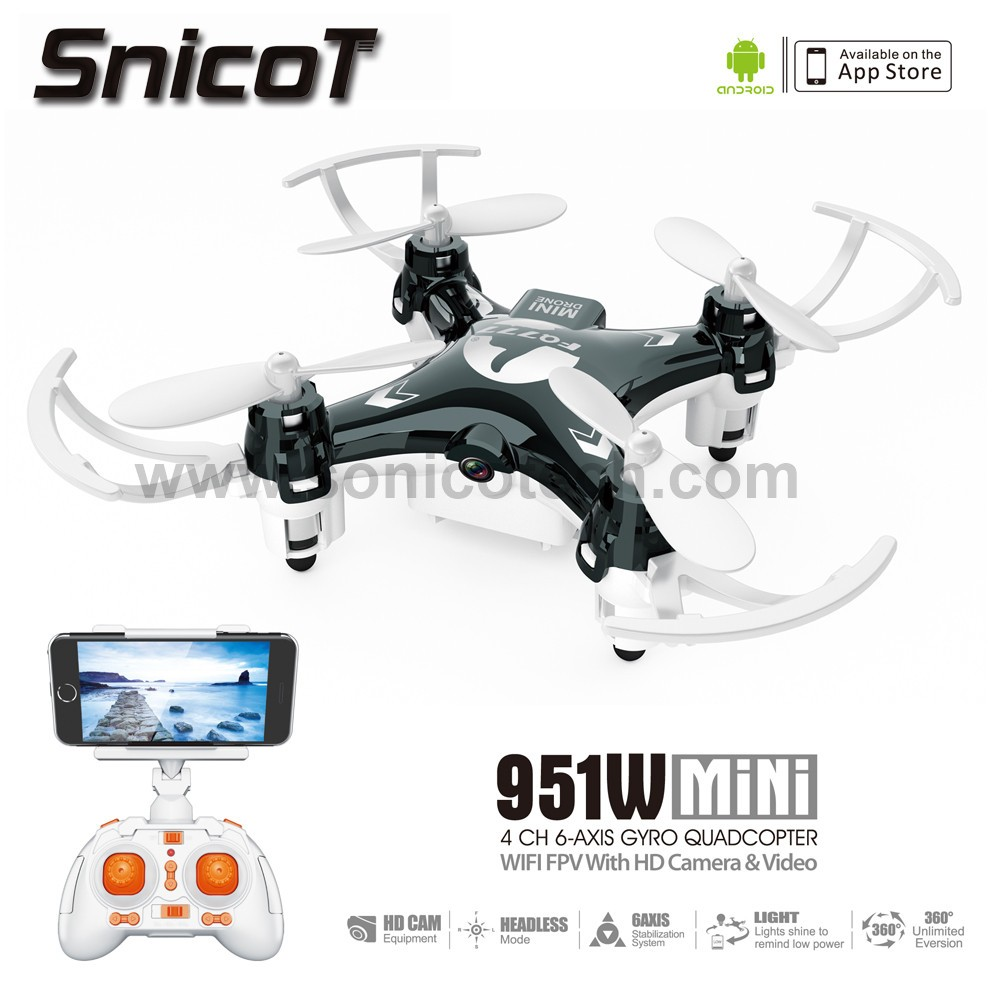 latest SnicoT 951W 2.4G 6Axis Gyro rc helicopter 6ch with HD Camera