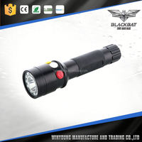 10W aluminum alloy led power style tactical zoom flashlight green color