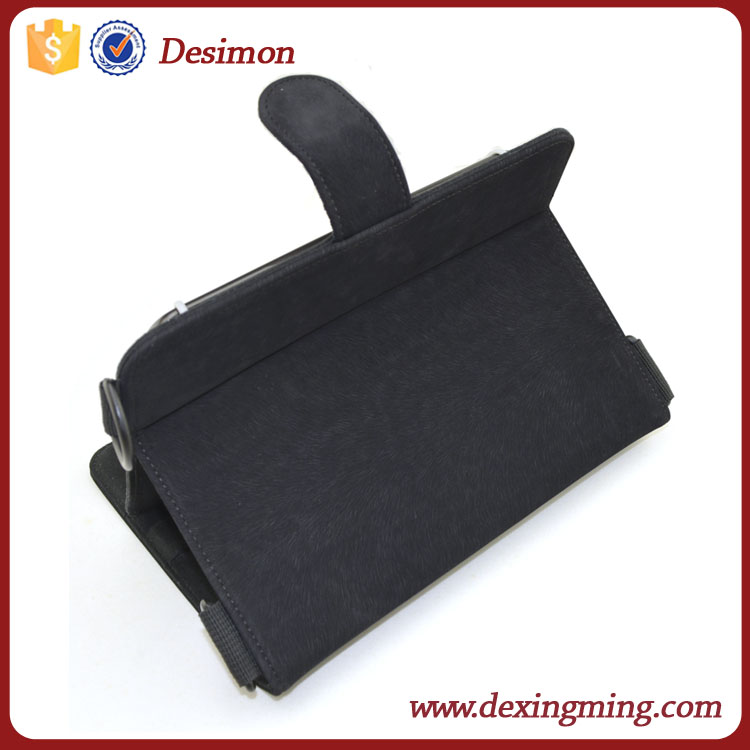 Soft Touch 7 inch Stand leather Tablet PC cover case for ipad Samsung Thinkpad
