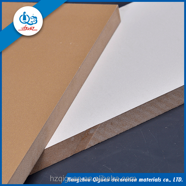 Mdf Grooved /wood Laminated Wall Panel /melamine Slotted Board