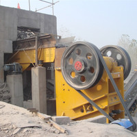 Durable hot selling jaw stone crusher for ore materials
