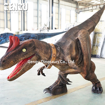 High Simulation Waterproof Foam Animatronic Dinosaur Dress