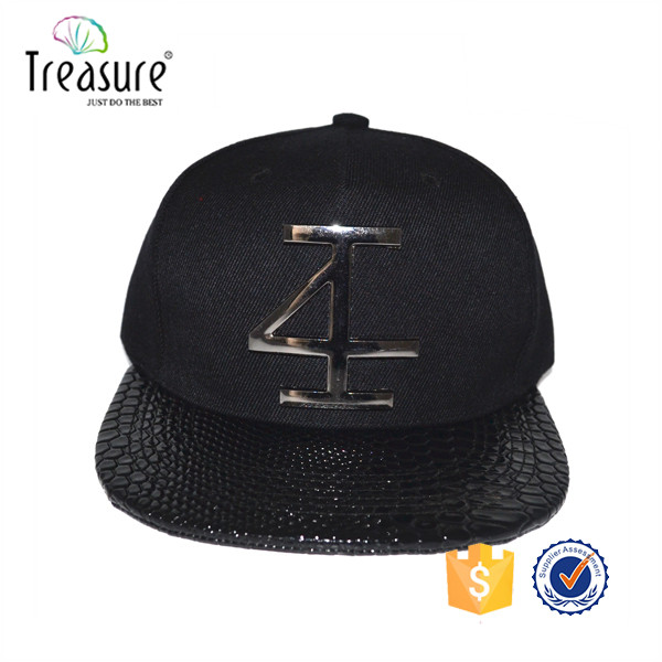Navy custom logo baseball cap + snapback/100% cotton twill van cap