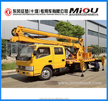 Double row Euro 3 aerial bucket truck