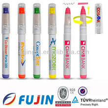 new fancy 2 in 1 Multi Color Highlighter High Quality Permanent Marker Pens