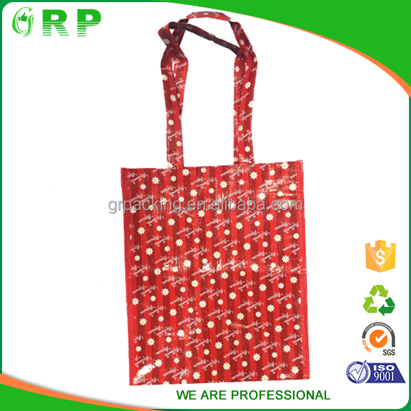ISO/BSCI Nice cover eco-friendly customize design pp woven bags specifications