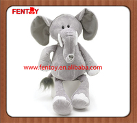 Plush Elephant Toy stuffed animals zoo cartoon character doll