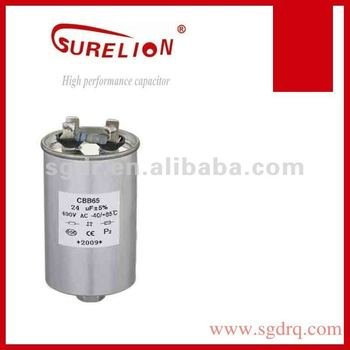 air conditioning capacitor CBB65 high resistance capacitor