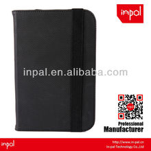 Lichee Pattern leather case for ipad mini with stand