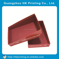 2016 Popular high quality comestic paper box