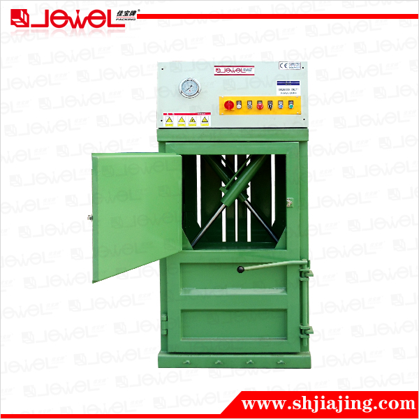 CE certified factory direct supply vertical hydraulic balers paper cardboard press for lower floor