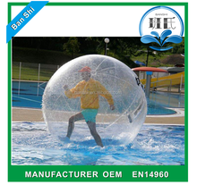 Guangzhou Banshi outdoor giant jumbo water ball, inflatable water walking ball rental