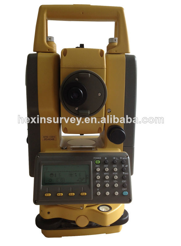 High performance Brand Topcon GTS102N total station survey instrument