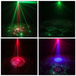 LM-DP4S portable laser speaker light with blue tooth for family and party club get together