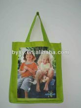 2012 Fold Up Polyester Bag With Press Button Pouch