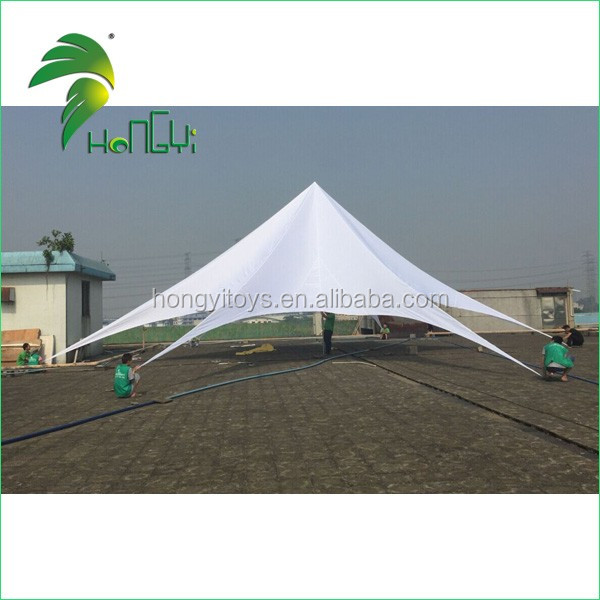 Popular High Quality Outdoor Party Star Tent , Single Top Star Shade Tent For Exhibition And Advertising