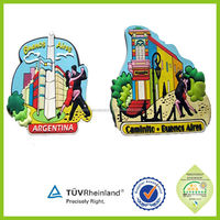 Wholesale Souvenir Tourists Country Fridge Magnets tinplate refrigerator magnet