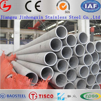 decorative material chrome steel pipe 316L stainless steel tubes