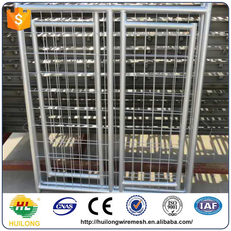 Hot selling galvanized comfortable heated dog kennel with high quality
