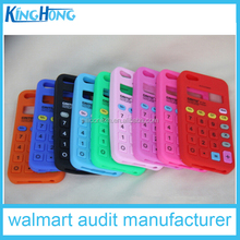 audit factory 3d design new Calculator silicone novety mobile Phone Case,cell phone case