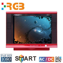 RGB hot sale brand new crt tv /15 17 19 inch small size skd tv with FTA certificate