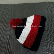 crazy red winter warm knitted hats