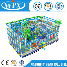 Professional big size cheer amusement space kids indoor playground