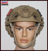 Replica of Crye Precision Airframe ballistic helmet with Velcro