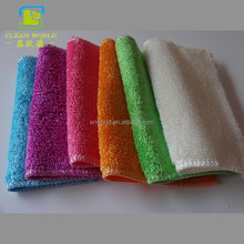 high water absorption antibacterial dish wash cleaning cloth bamboo cleaning cloth