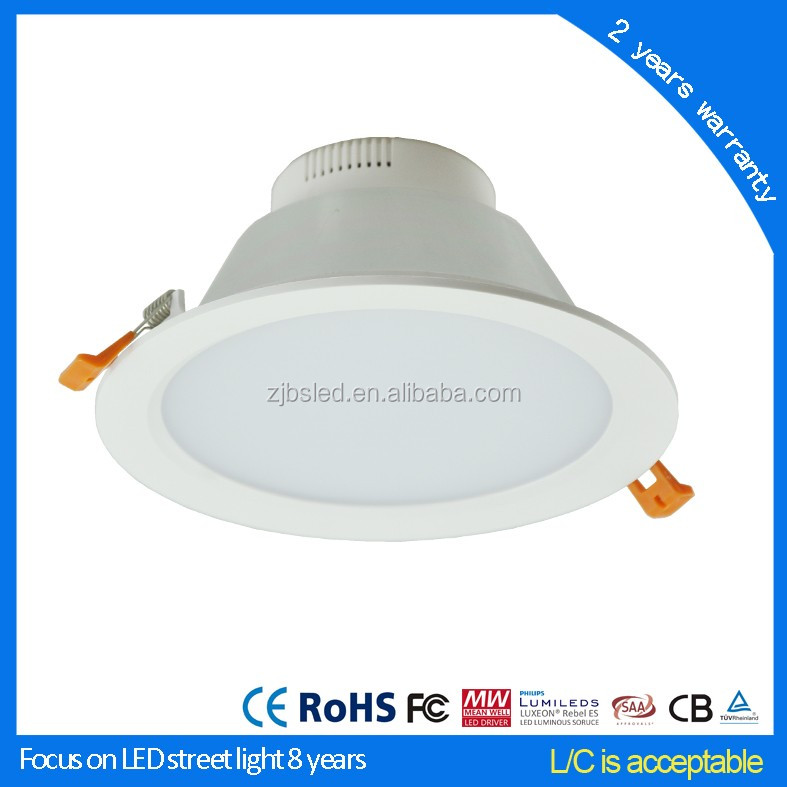 10W 80mm led light downlight, factory price list, LED down lights