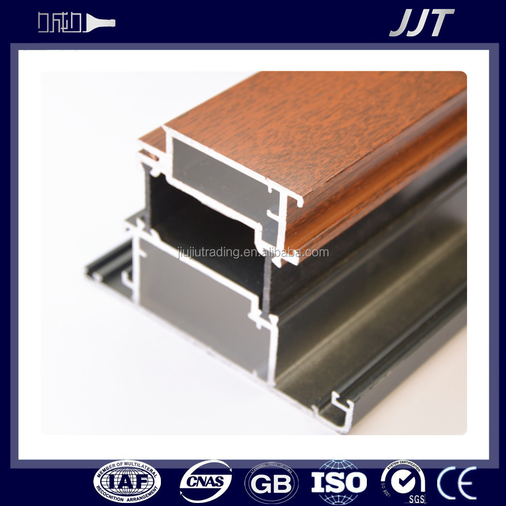 Different surface aluminum frame glass door parts