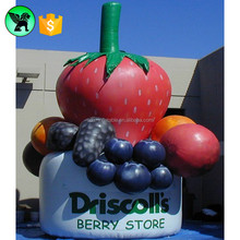 Inflatable Grape , Inflatable Strawberry Promotional Giant Fruit Inflatable A2102