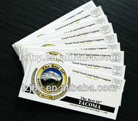 Mini discount coupon booklet printing