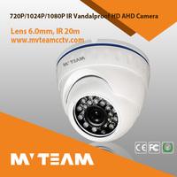 AHD dome cctv camera vandal- proof waterproof outdoor mini dome camera