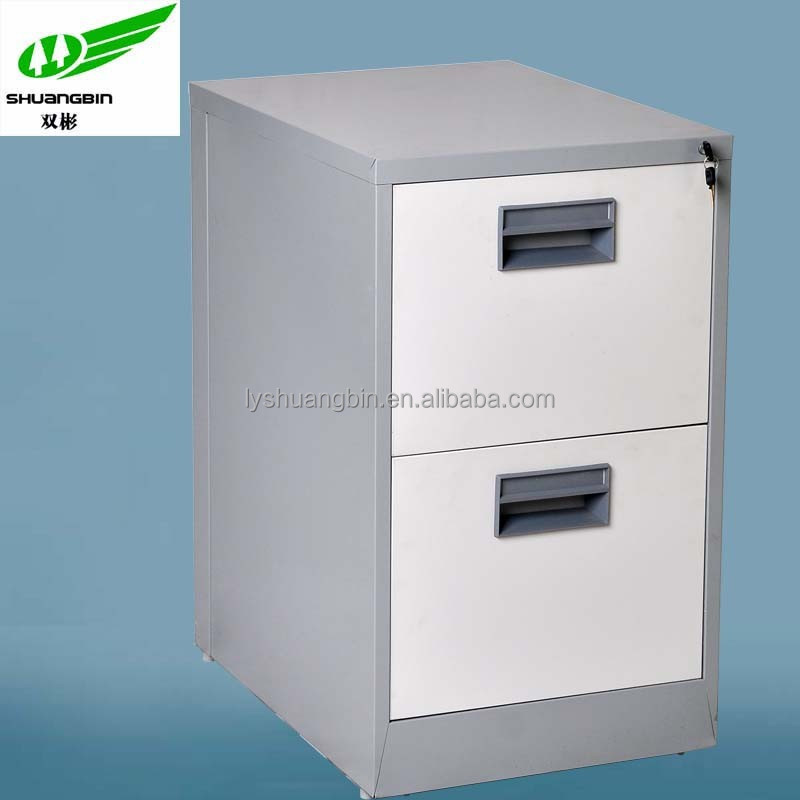 Vertical hanging file 2-drawer purple file cabinet