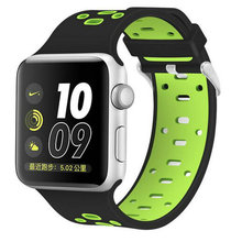 Colorful silicone watch wristband apple watch wristband for your choice