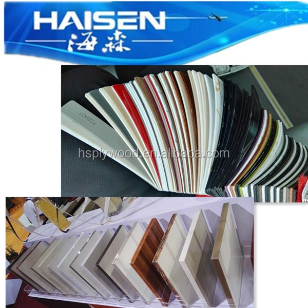 furniture melamine MDF plastic strip pvc edge banding