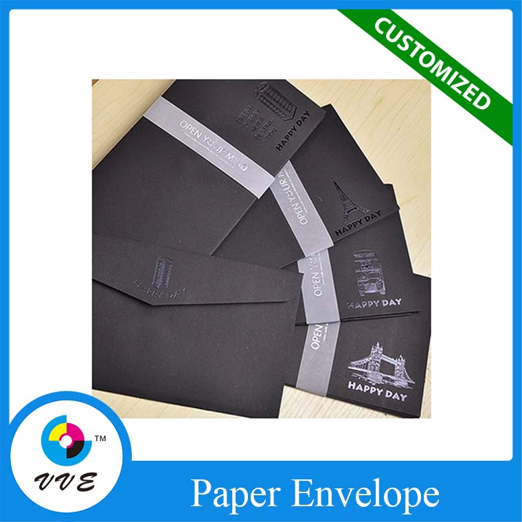 2016 Best Sale Luxury Design matt black envelope