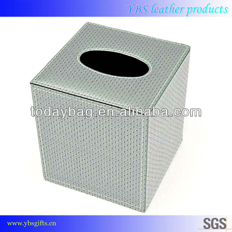 Leather Napkin box, Stylish Tissue Box made in China
