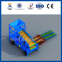 Large Output Gold Processing Equipment with Double Decks Vibrating Screen from SINOLINKING