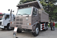sinotruk super heavy duty 10 wheel 70 ton mining dump truck